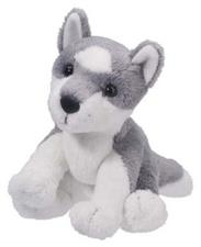 Mini Stuffed Animal Sierra Husky Dog