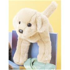 Douglas 12 inch stuffed animal Mini Floppy Spankie Yellow Lab Dog
