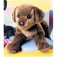 Douglas 12 inch stuffed animal Mini Floppy C.C. Bean Chocolate Lab Dog