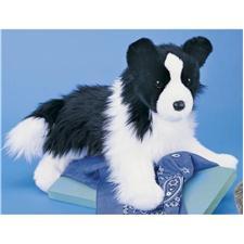 Douglas 16 inch Floppy Chase Border Collie Dog