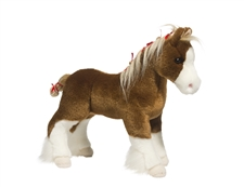 Clydesdale Horse Stuffed Animal