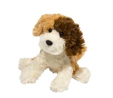 Douglas 8 inch stuffed animal Tricolor Labradoodle Dog