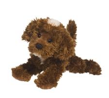 Douglas 8 inch stuffed animal Chocolate Labradoodle Dog
