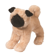 Douglas 8 inch stuffed animal Punky Pug