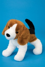 Douglas 8 inch stuffed animal Salsa Beagle