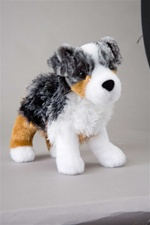 Douglas 8 inch stuffed animal Steward Australian Shepherd