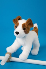 Douglas 8 inch stuffed animal Feisty Jack Russell