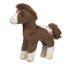 Plush Appaloosa Horse