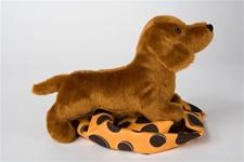 Douglas 8 inch stuffed animal Dilly Dachshund