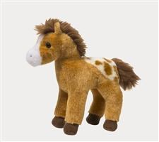 Golden Appaloosa Horse Stuffed Toy