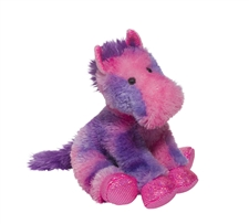 Purple and Pink Horse Plush Toys - Allegra