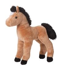 Buckskin Foal Horse Plush Toy