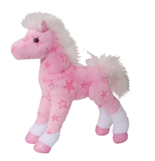 Summer Pink Horse Plush Toy