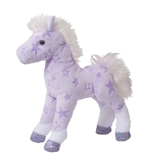 Solstice Purple Horse Plush Toy