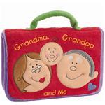 """""""Baby Gund 7""""""""W x 5""""""""H Grandma, Grandpa, and Me Photo Album"""""""
