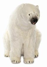 """35"""" Hansa Polar Bear Seated"""