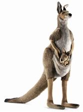 "45"" Hansa Kangaroo Life Size"