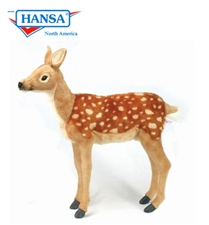 "21"" Hansa Deer, Medium Bambi Standing"