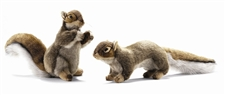"""12"""" Hansa Brown Squirrel Nut (Image on the Left)"""