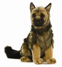 17 inch Hansa German Shepherd Pup