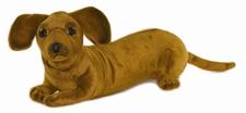 Hansa Dachshund Pup 12 inch Plush Stuffed Animal