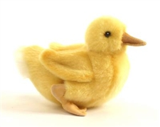 "8"" Hansa Duck Chick W/Feet"