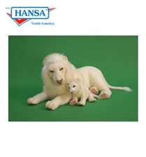"""40"""" Hansa White Lion"""