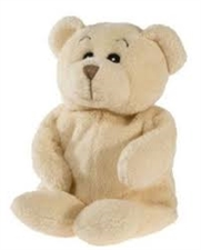 "Jaag 9"" Baby Cream Bear"