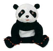 "7"" Kids Preferred Eric Carle Panda Bear bean bag toy"