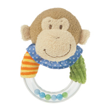 Mary Meyer Mango Monkey Rattle 35300