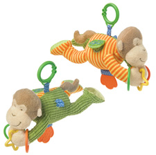 Mary Meyer Mango Monkey Activity Toy 35310