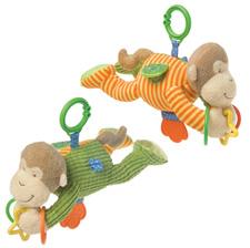 Mary Meyer Mango Monkey Activity Toy 35310