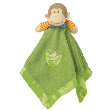 Mary Meyer Mango Monkey Baby Blanket 35320
