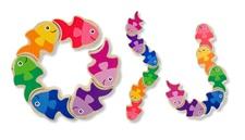 Melissa & Doug Friendly Fish Grasping Toy 3071