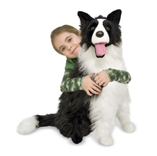 Melissa & Doug Border Collie 4868