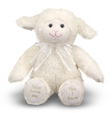 Melissa & Doug Jesus Loves Me Lamb-