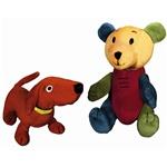 """Dog and Bear 9"""" Set"""