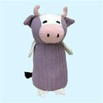 """Maggies Organics - Cow 8""""H Lavender"""