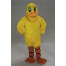 Mask U.S. Yellow Duck Mascot Costume