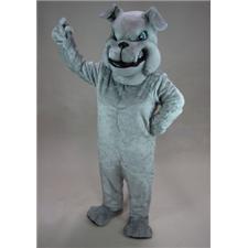 Mask U.S. Grey Bulldog Mascot Costume