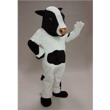 Mask U.S. Cow Mascot Costume