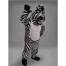 Mask U.S. Zebra Mascot Costume