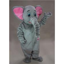 Mask U.S. Asian Elephant Mascot Costume