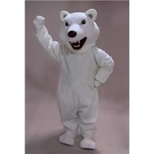 Mask U.S. Mean Polar Bear Mascot Costume