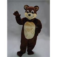 Mask U.S. Chocolate Bear Mascot Costume