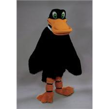 Mask U.S. Black Duck Mascot Costume