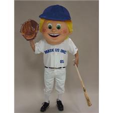 Mask U.S. Baseball Kid* Mascot Costume