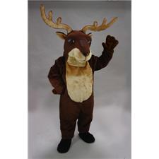 Mask U.S. Reindeer Mascot Costume