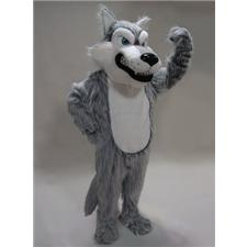 Mask U.S. Grey Wolf Mascot Costume