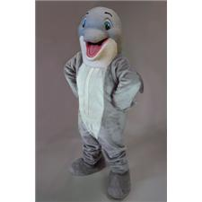 Mask U.S. Happy Dolphin Mascot Costume